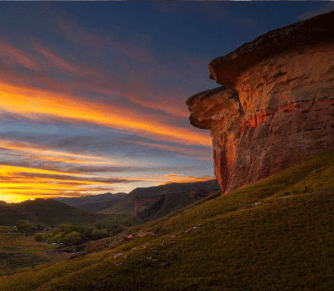 Clarens, Free State, South Africa - mountain