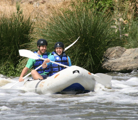 Free State, South Africa - River Rafting