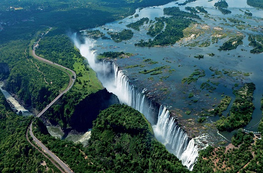 Victoria Falls, Zimbabwe - Fly in